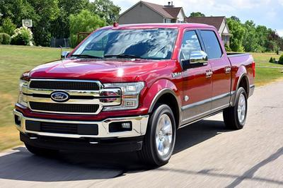 The 2018 Ford F-150 improves on previous years' models in both gas mileage and performance.