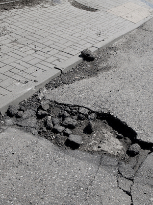 The committee heard a request for sidewalk repair at 6401 Sunset Drive.