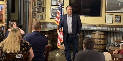Florida House Rep. Ray Rodrigues (R-Estero), from a photo taken during a Disabled Republican Club meeting in September