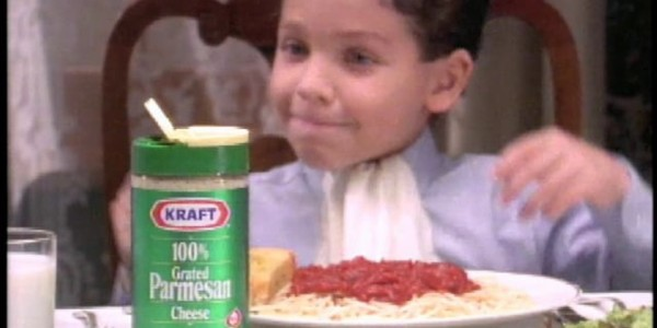 Large kraft parmesan commercial