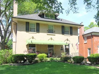 The home for sale at 1330 Lathrop Ave. in River Forest had a property tax bill of $13,909 in 2016.