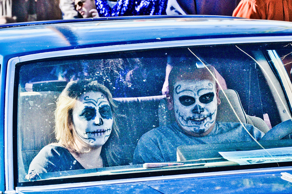 The ESB-MACC has held a car and bike show in conjunction with Dia de los Muertos every year since 2010.