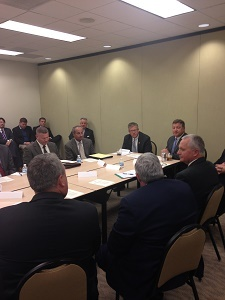 State and federal stakeholders attend a roundtable this week in Chicago to discuss the state's infrastructure needs.