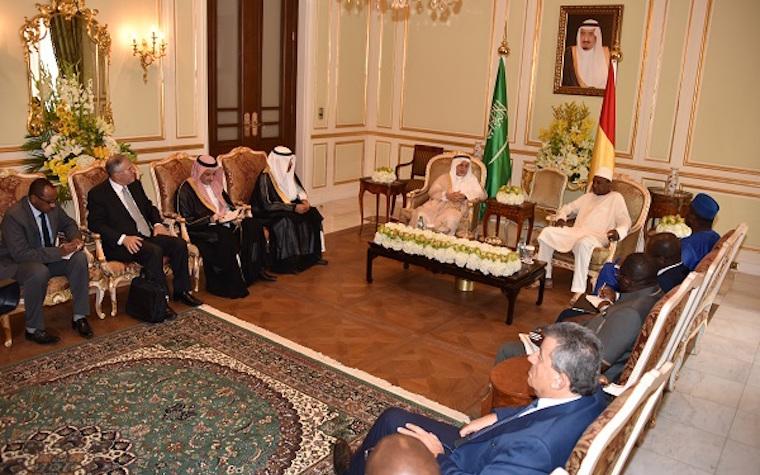 Guinea and Saudi meet to discuss trade potential