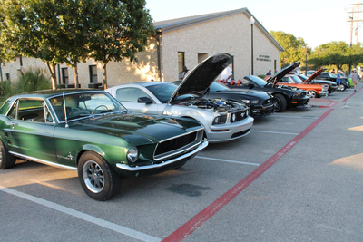 The Leander Car Show resumes on April 20 with a focus on the 55th anniversary of the Ford Mustand.