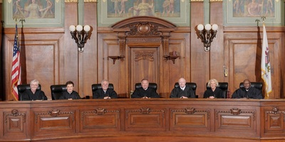 Justices on the Illinois Supreme Court