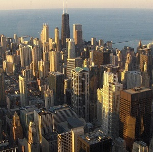 Moody's recently downgraded Chicago's credit rating, principally for its troubles with its pension program.