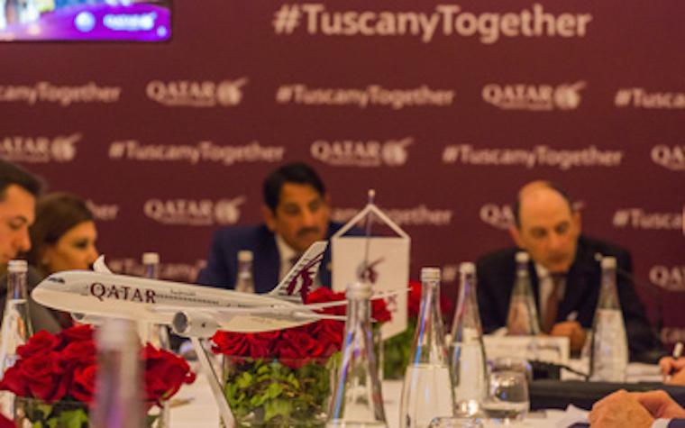 Qatar Airways hosts press briefing in Italy to celebrate new Pisa flight
