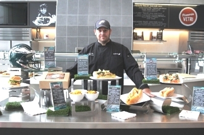 Philadelphia Eagles and Aramark renew food and beverage partnership for Lincoln Financial Field events.
