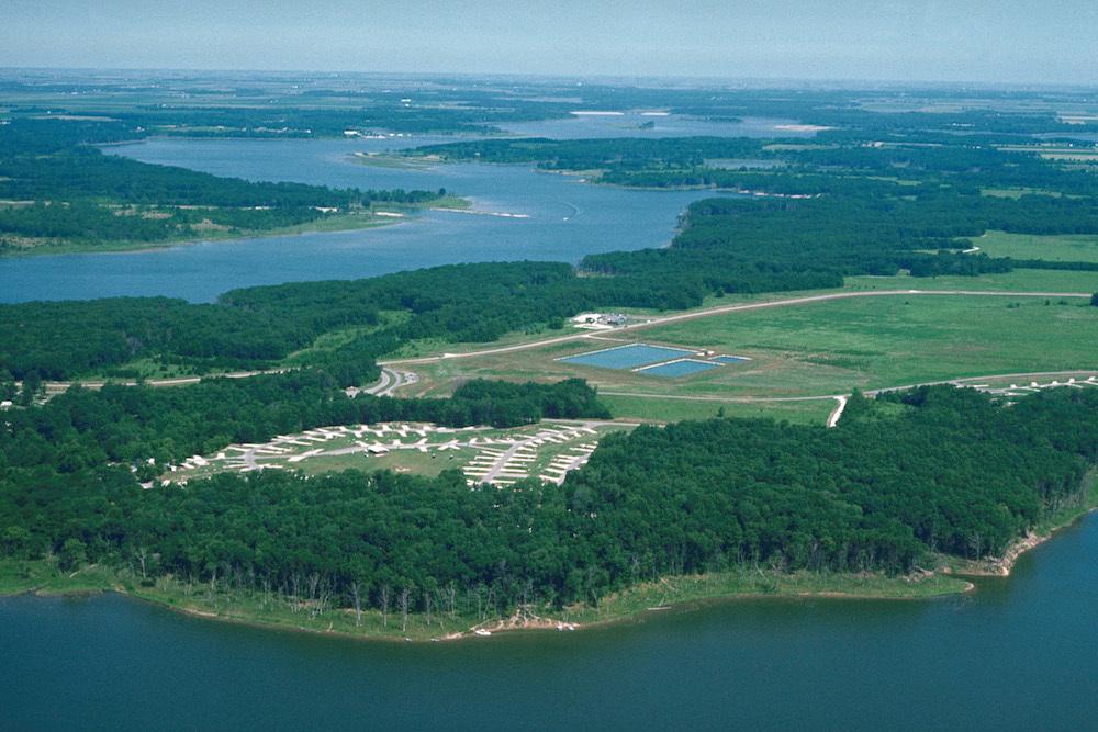 Shelbyville Lake, Illinois