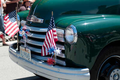 The Lago Vista celebration combines patriotism and a love of classic cars.