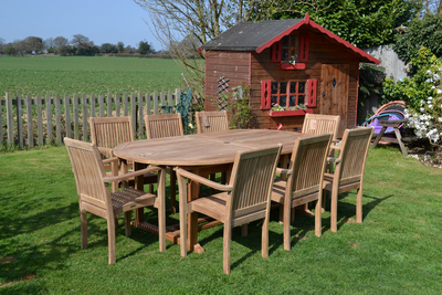 Teak remains one of the most popular choices for outdoor wooden furniture.