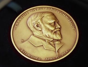 Pittsburgh's Carnegie Commission awards two dozen Carnegie Medals for outstanding heroism.