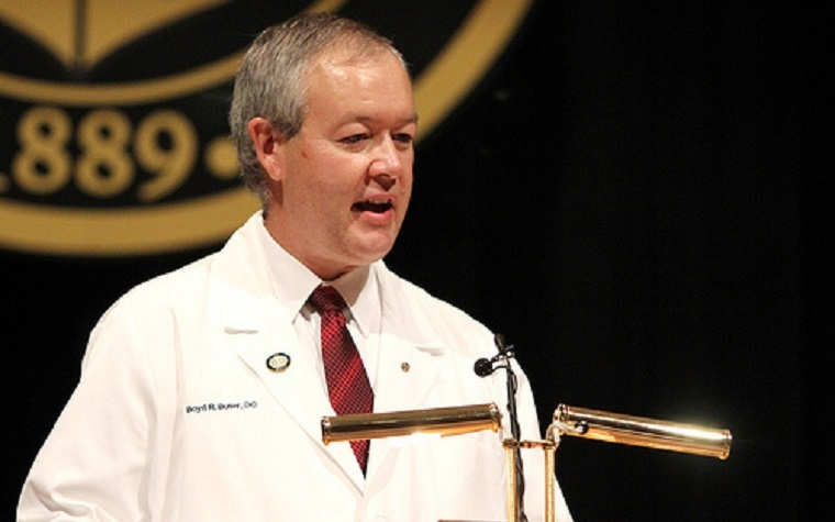 Boyd Buser was recently named president of the American Osteopathic Association.