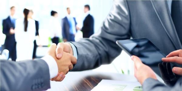 Large handshake