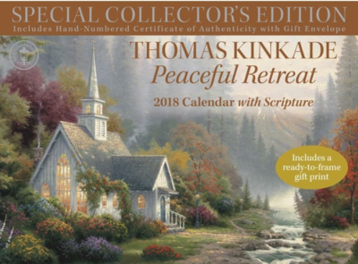 2018 Thomas Kinkade Special Collector's Edition with Scriptures
