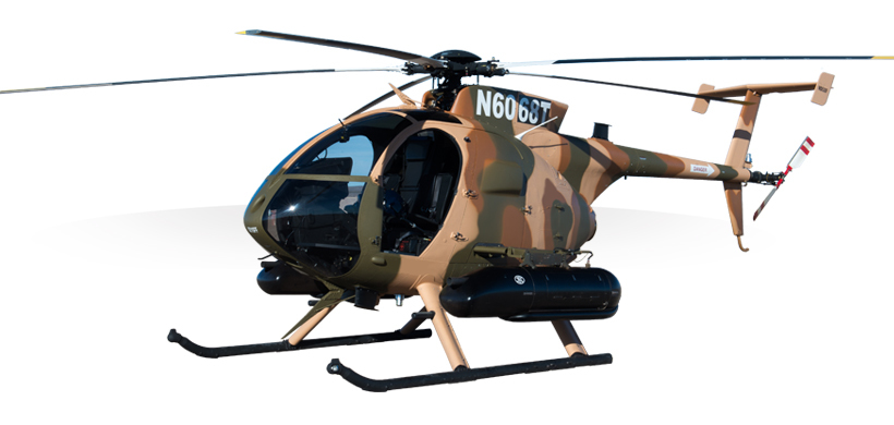 MD 530F Cayuse Warrior