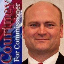 Westmoreland County Commissioner Tyler Courtney