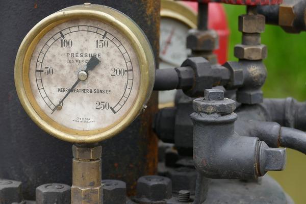 Large pressuregauge