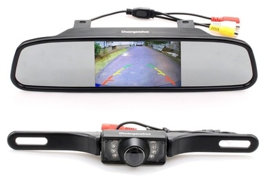 Aftermarket backup camera and monitor kit tells you when rear is ...