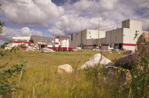 The AREVA, Inc. McCLean Lake Mill in Saskatchewan, Canada.