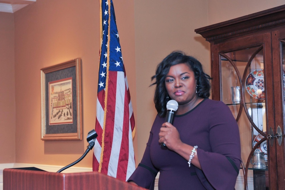 Republican Alyssia Benford: 'I don't play follow the leader.'