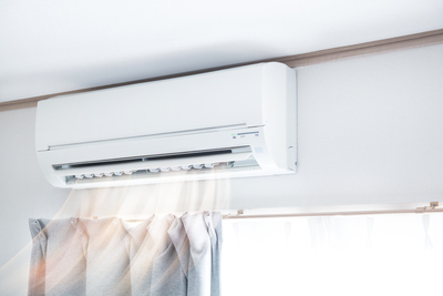 Closing curtains when you are not in a room can help control air-conditioning costs.