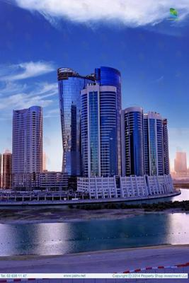 There is a studio apartment available in the Hydra Avenue Towers on Al Reem Island.