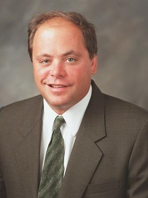 Algonquin Township Clerk Chuck Lutzow, running for Township Supervisor