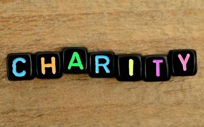 Medium charity sign