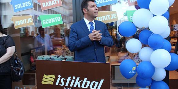 Boydak Holding CEO Memduh Boydak attends the Istikbal opening ceremony.