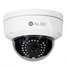 The Alibi NS 1014 waterproof outdoor dome IP security camera is a top seller at Net Solutions and Security