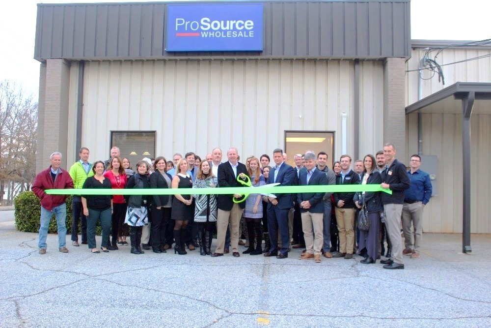 The new ProSource Wholesale facility features an on-site kitchen and bath design professional.
