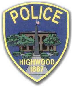 Medium highwood police patch