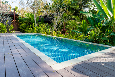 Summertime is a great time to enjoy the swimming pool, but a comfortable temperature is important.