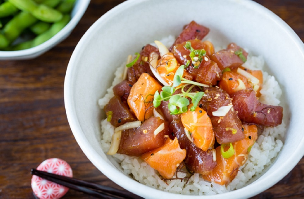 Poke bowls are all the rage in the hip cuisine scene across America.