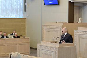 Belarus President Alexander Lukashenko said Belarus won't tolerate any trade wars as a member of the Eurasion Economic Union.