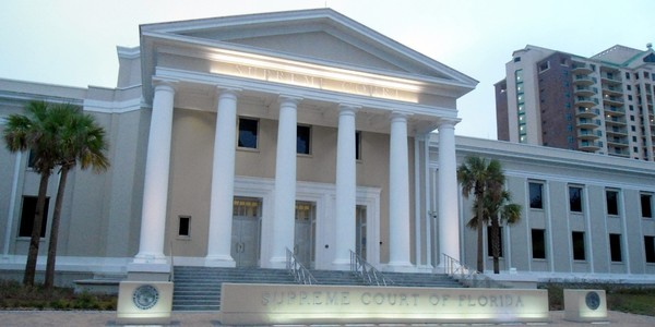 Large florida supreme court building