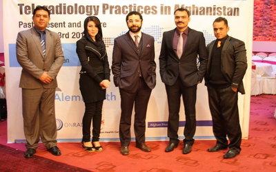 Team at UAE-based AlemHealth