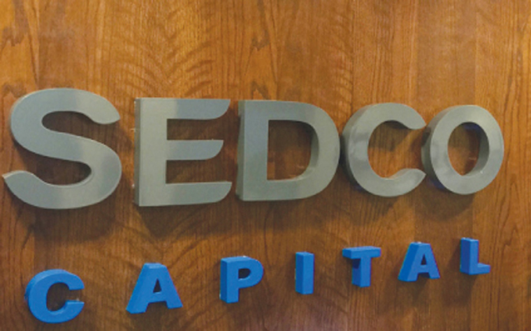 SEDCO Capital's real-estate portfolio in Saudi Arabia is now valued at $266.6 million.