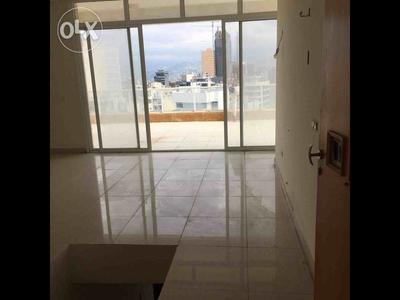Inside the available duplex in Ahrafieh
