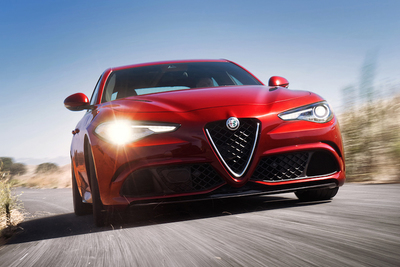 The Alfa Romeo Giulia Quadrifoglio sports a 50/50 weight distribution for optimal balance.