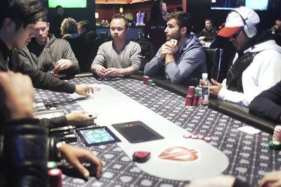 Medium world poker tour table 1