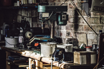 A garage can become quite cluttered over a year of use.