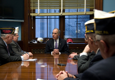 U.S. Sen. Bob Casey (D-Penn.) jump-started efforts to reduce the backlog of benefits claims at Veterans Affairs offices in 2014.