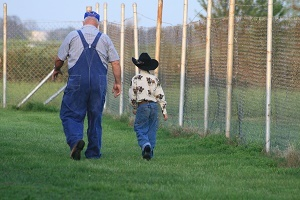Over half of the nation's farmers are within 10 years of retirement age or older.