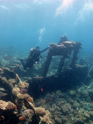 Large undersea drilling