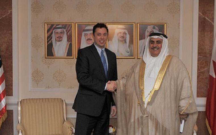 The minister of foreign affairs meets with U.S. Rep. Jason Chaffetz to discuss the developing relationship between the two nations.