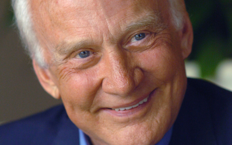 Buzz Aldrin made history in 1969 when he, along with astronaut colleague Neil Armstrong, landed on the moon.