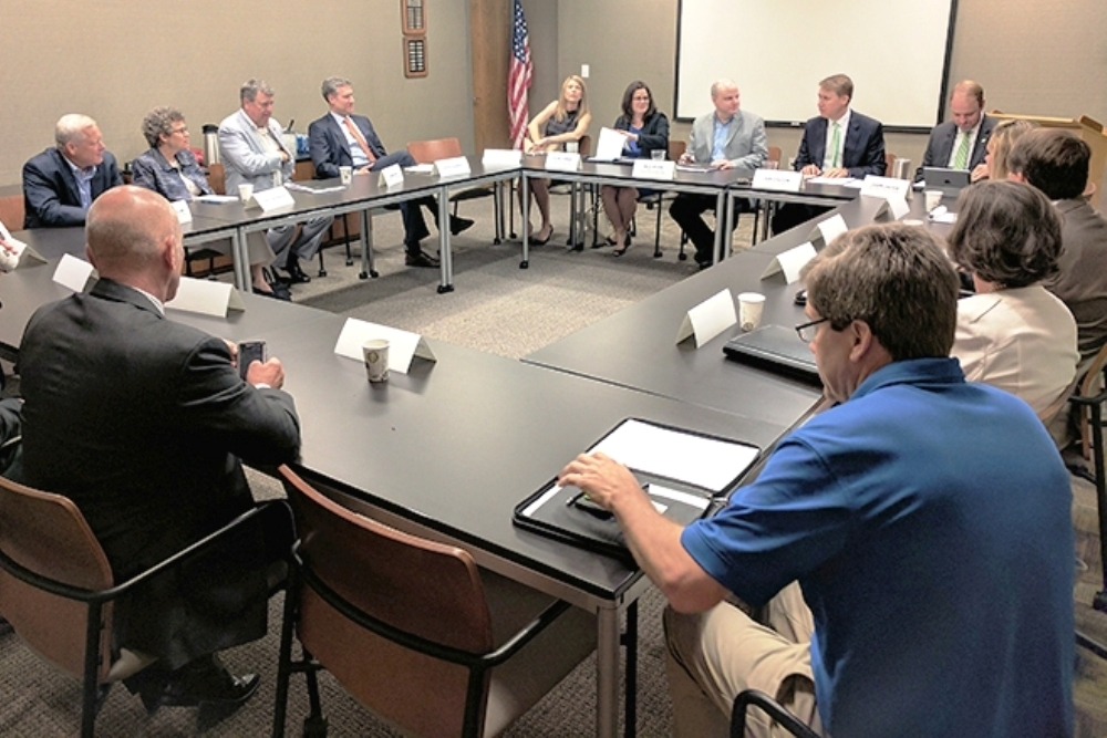 Chamber members met with staffers for Sens. Lindsey Graham and Tim Scott and Rep. Trey Gowdy.